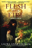 FLESH AND FIRE: Book One of The Vineart War. by Gilman, Laura Anne.