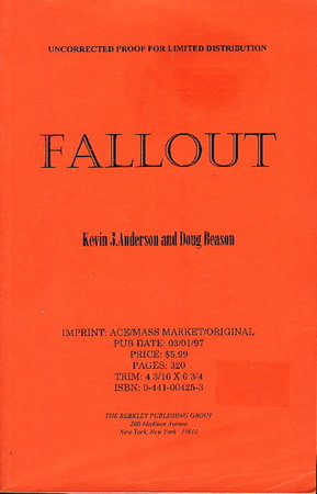 FALLOUT. by Anderson, Kevin J, and Doug Beason.