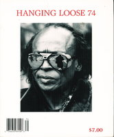 HANGING LOOSE 74. by [Alexie, Sherman, signed] Robert Hershon and Dick Lourie, Editors.