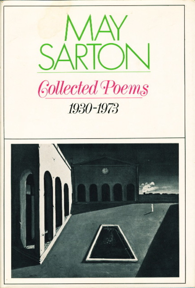 Book cover picture of Sarton, May. COLLECTED POEMS (1930-1973.) New York: Norton, (1974.)