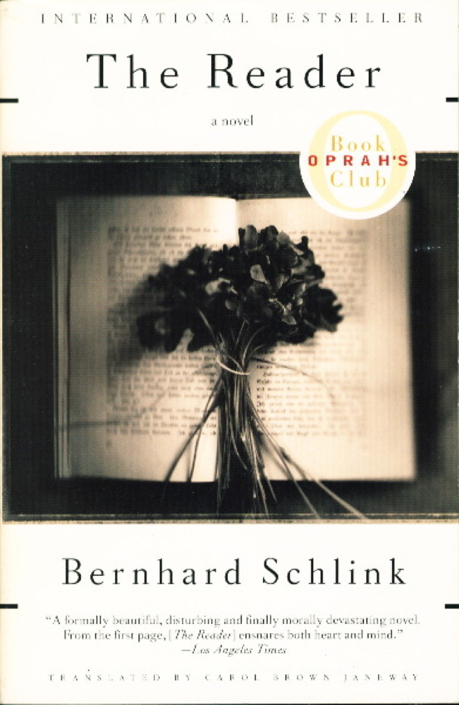Book cover picture of Schlink, Bernard. THE READER. New York: Vintage Books, (1998.)