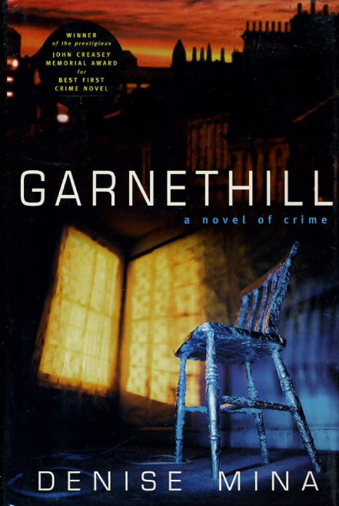 Book cover picture of Mina, Denise. GARNETHILL. New York: Carroll & Graf, (1999.)