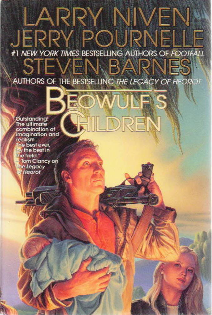 NIVEN, LARRY, JERRY POURNELLE AND STEVEN BARNES, - BEOWULF'S CHILDREN.