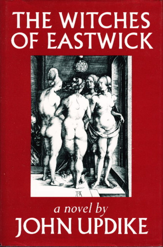 Book cover picture of Updike, John. THE WITCHES OF EASTWICK. New York: Alfred A. Knopf, 1984.