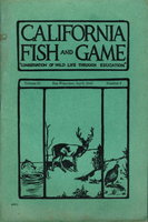 "CALIFORNIA FISH AND GAME:""Conservation of Wild Life Through Education"" Volume 31, Number 2, April 1945. by Van Cleve, Richard. and others."