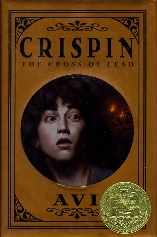 Book cover picture of Avi. CRISPIN: THE CROSS OF LEAD. New York: Hyperion, (2002.)