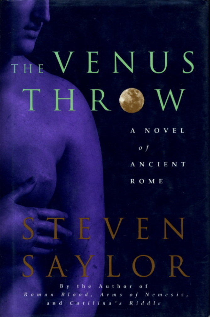 Book cover picture of Saylor, Steven. THE VENUS THROW. New York: St Martin's, (1995.)