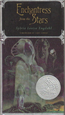 ENCHANTRESS FROM THE STARS. by Engdahl, Sylvia Louise. (foreword by Lois Lowry, illustrated by the Dillons)