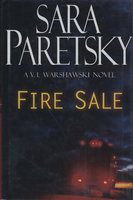 FIRE SALE. by Paretsky, Sara.