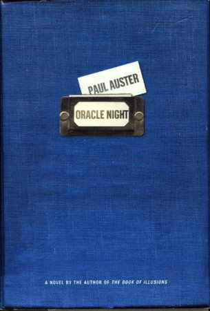 ORACLE NIGHT. by Auster, Paul