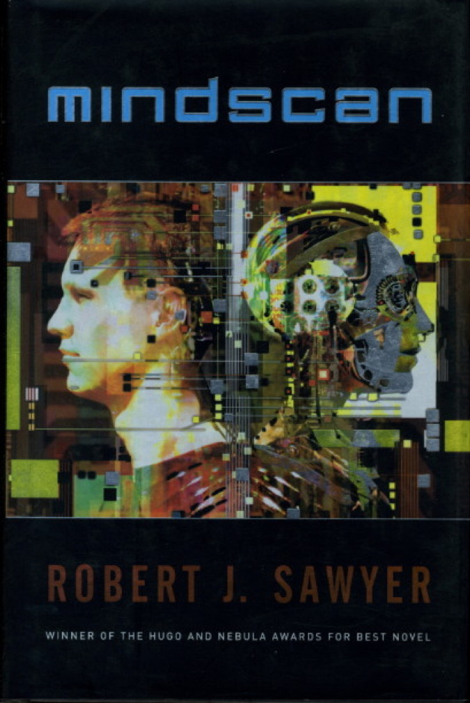 Book cover picture of Sawyer, Robert. MINDSCAN. New York: TOR / Tom Doherty Associates, (2005.)