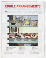 WAYNE THIEBAUD: Working with Composition, Scholastic Art February 2003. by Thiebaud, Wayne.