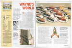 Another image of WAYNE THIEBAUD: Working with Composition, Scholastic Art February 2003. by Thiebaud, Wayne.