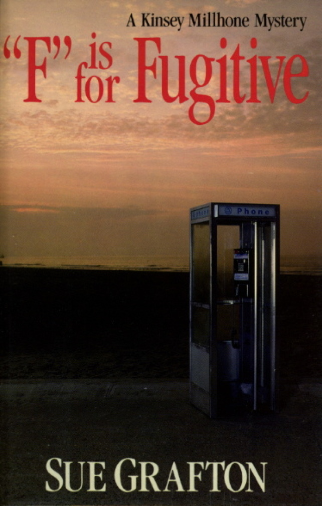 Book cover picture of Grafton, Sue. 'F' IS FOR FUGITIVE. New York: Henry Holt, (1989.)