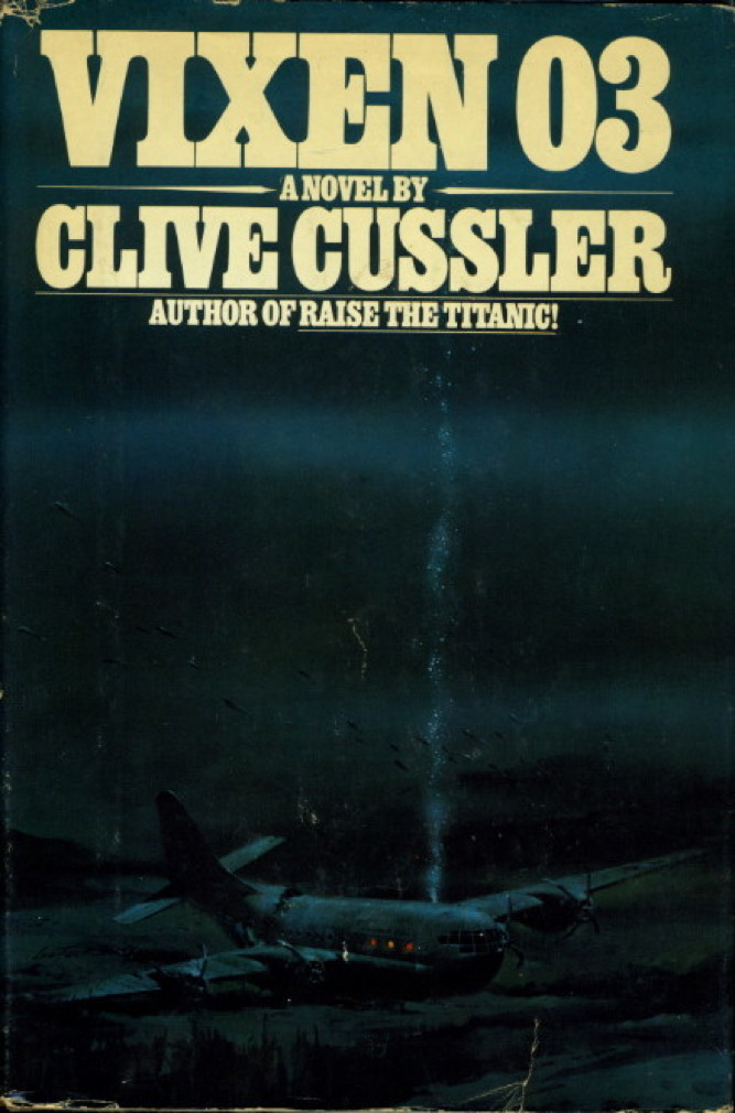 Book cover picture of Cussler, Clive. VIXEN 03 New York: Viking, (1978.)
