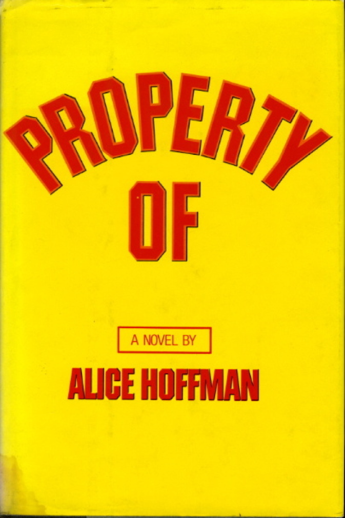 Book cover picture of Hoffman, Alice PROPERTY OF New York: Farrar, Straus & Giroux, (1977.)
