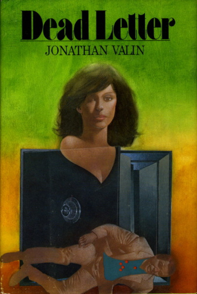 Book cover picture of Valin, Jonathan. DEAD LETTER. New York: Dodd, Mead, (1981.)