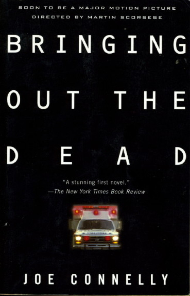 Book cover picture of Connelly, Joe. BRINGING OUT THE DEAD. New York: Vintage Books, (1999.)