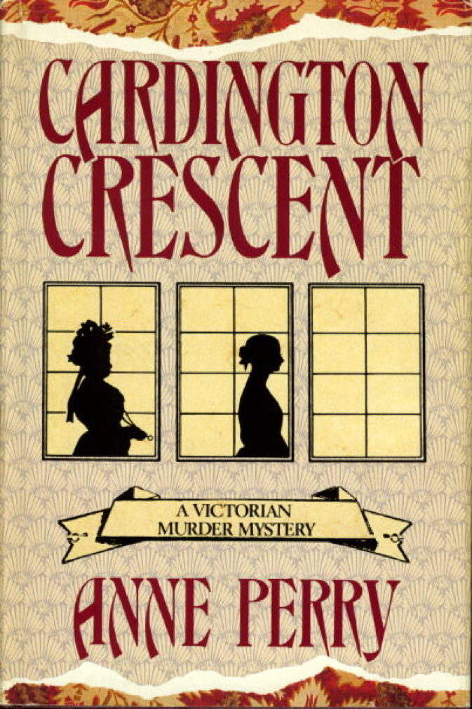 Book cover picture of Perry,  Anne. CARDINGTON CRESCENT. New York: St Martin's, (1987.)