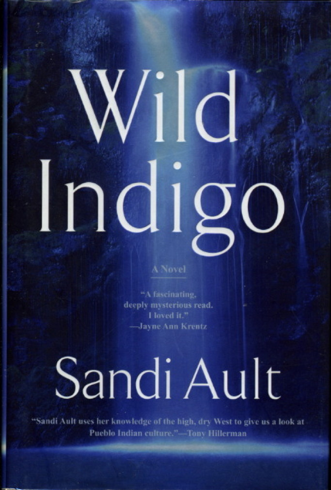 Book cover picture of Ault, Sandi. WILD INDIGO. New York: Berkley, (2006.)