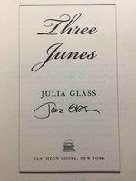 THREE JUNES. by Glass, Julia.