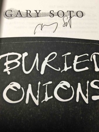 buried onions simply by whilst gary soto essay