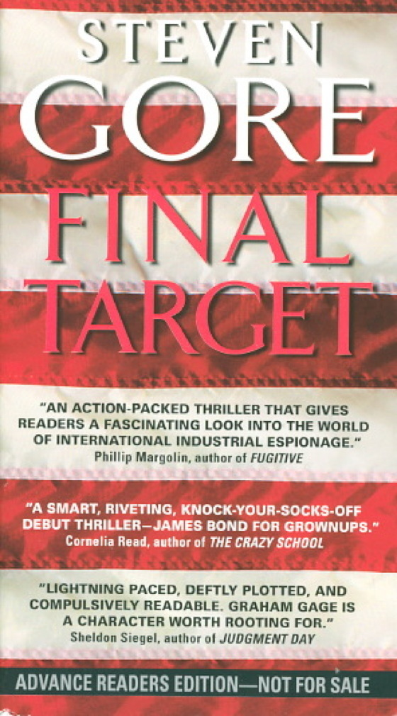 Book cover picture of Gore, Steven. FINAL TARGET. New York: Harper Collins, (2010.)