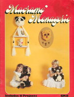 MACRAME MENAGERIE. GM 11. by Lusk, Sharon.