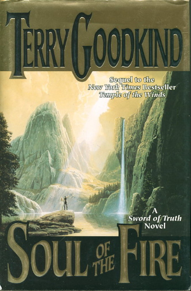 Book cover picture of Goodkind, Terry. SOUL OF THE FIRE. New York: TOR / Tom Doherty Associates, (2000.)