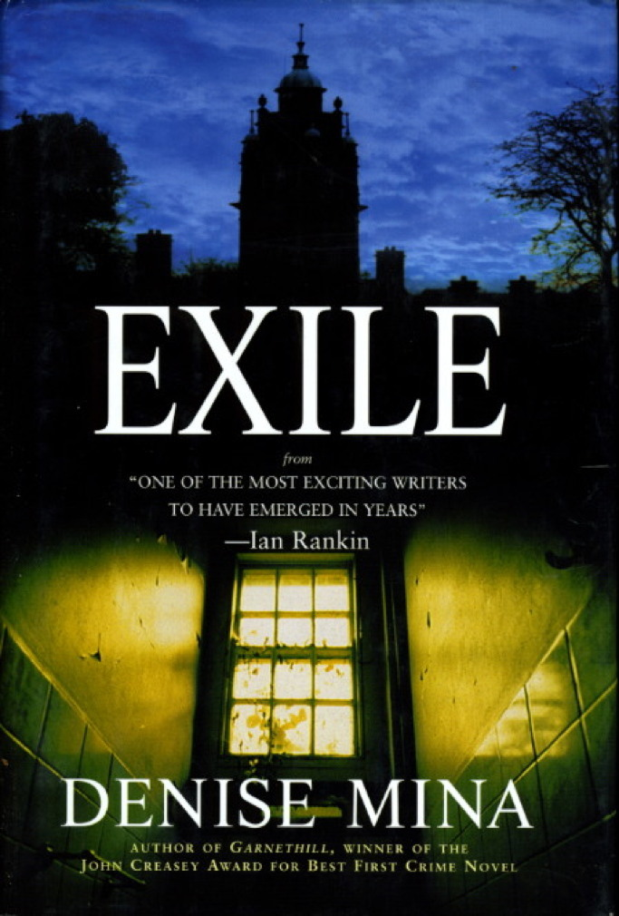 Book cover picture of Mina, Denise. EXILE. New York: Carroll & Graf, (2001.)