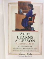 ADDY LEARNS A LESSON: A School Story: Book Two. by Porter, Connie.