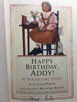 HAPPY BIRTHDAY, ADDY: A Springtime Story: Book Four (4). by Porter, Connie.
