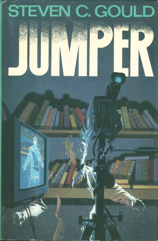 Book cover picture of Gould, Steven JUMPER. New York: TOR / Tom Doherty Associates, (1992.)