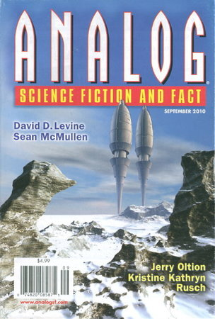 'That Leviathan, Whom Thou Hast Made' in ANALOG Science Fiction and Fact, September 2010. Volume CXXX, Number 9. by Stone, Eric James ; Sean McMullen and others (edited by Stanley Schmidt.)