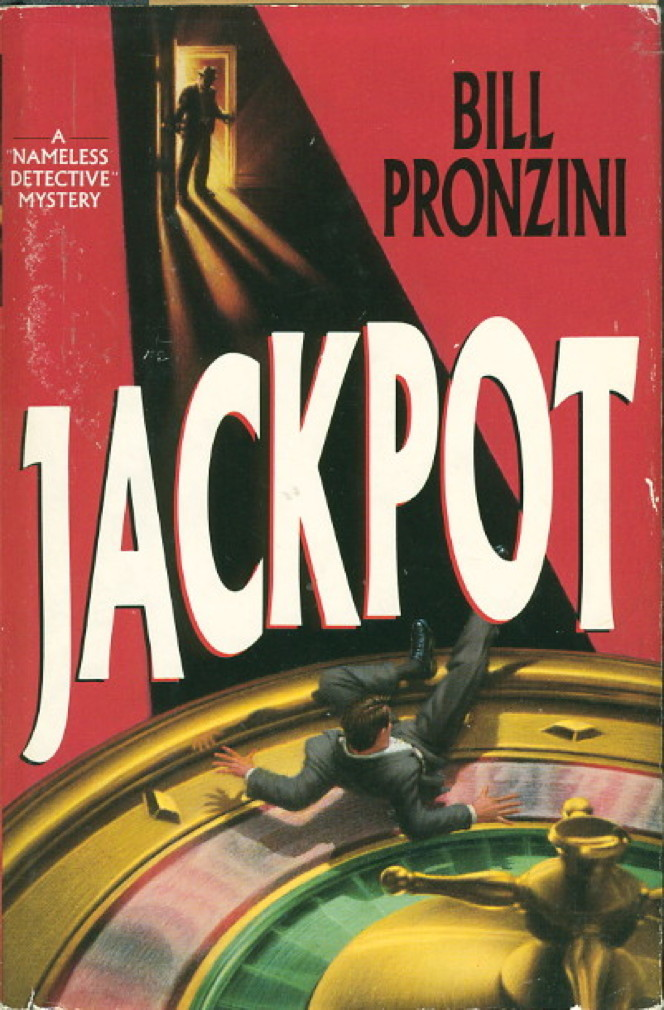 Book cover picture of Pronzini, Bill. JACKPOT. New York: Delacorte, (1990.)
