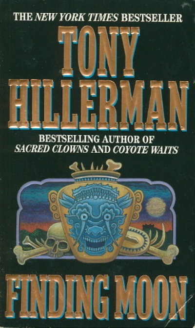 FINDING MOON. by Hillerman, Tony
