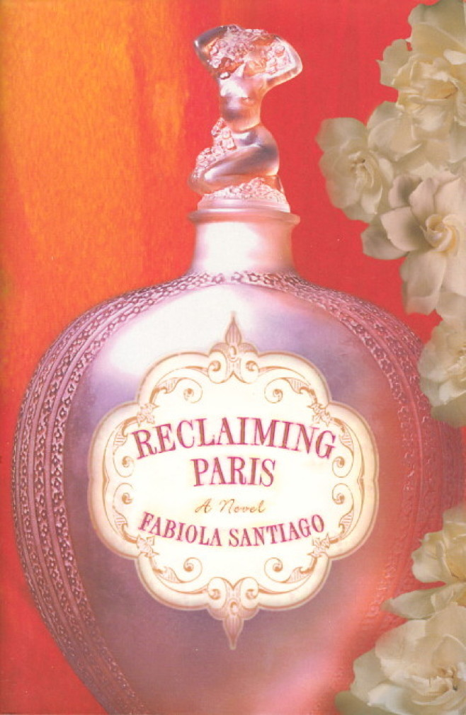 Book cover picture of Santiago, Fabiola. RECLAIMING PARIS. New York: Atria Books,  (2008.)