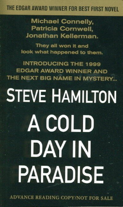 A COLD DAY IN PARADISE. by Hamilton, Steve.