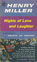 NIGHTS OF LOVE AND LAUGHTER. by Miller, Henry.