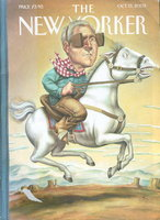 THE NEW YORKER: October 13, 2003. by Byatt, A. S., Philip Levine and others, contributors.