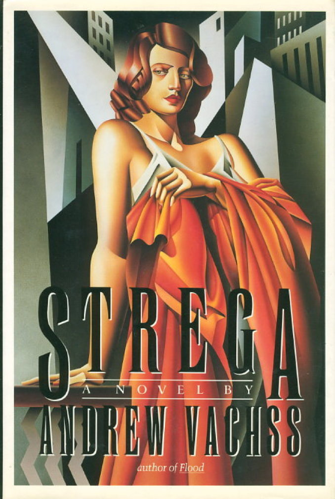 Book cover picture of Vachss, Andrew. STREGA. New York: Alfred A. Knopf, 1987.