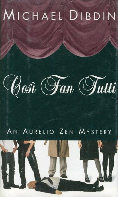 COSI FAN TUTTI. by Dibdin, Michael.