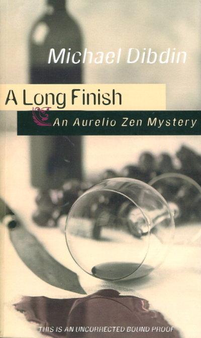 A LONG FINISH: An Aurelio Zen Mystery. by Dibdin, Michael.