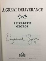 A GREAT DELIVERANCE by George, Elizabeth.