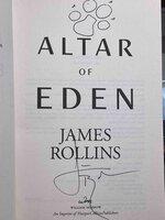 ALTAR OF EDEN. by Rollins, James.