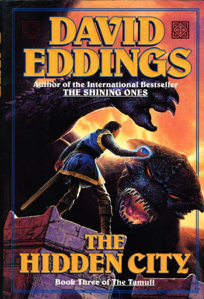 The Hidden City (The Tamuli, Book 3), Eddings, David