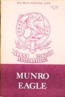 MUNRO EAGLE, Fall 1980, No. 11. by Organ, Ann Monroe, editor.