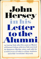 LETTER TO THE ALUMNI. by Hersey, John.