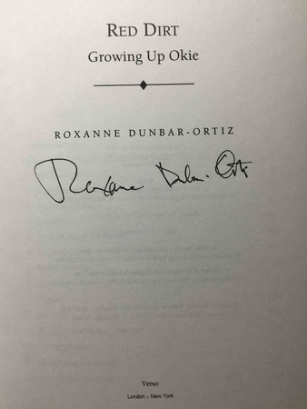 RED DIRT: GROWING UP OKIE. by Dunbar-Ortiz, Roxanne.