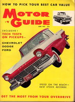 MOTOR GUIDE June 1957 by Humphrey, Hugh, editor.